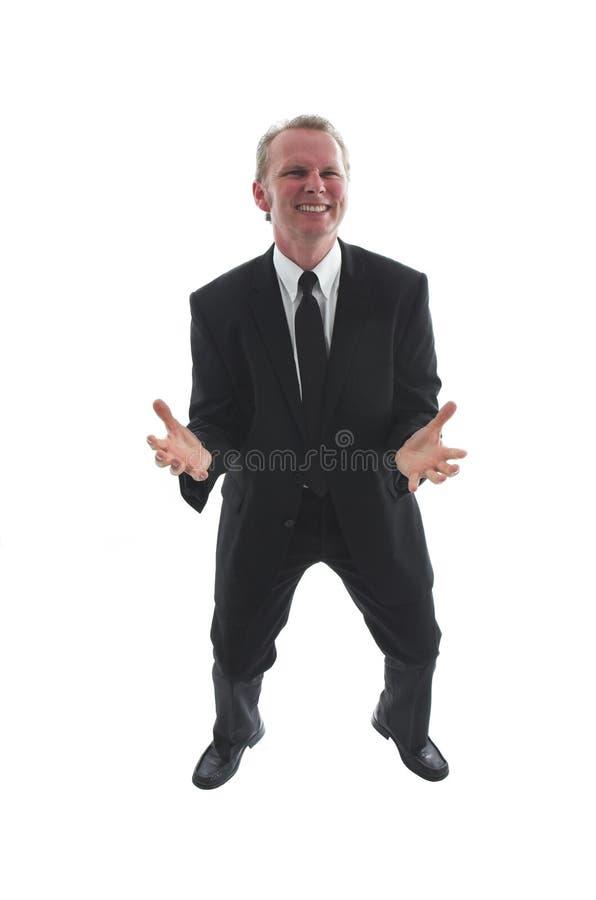 Hombre de negocios frustrado foto de archivo libre de regalías