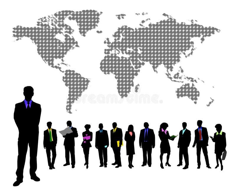 Hombre de negocios global libre illustration