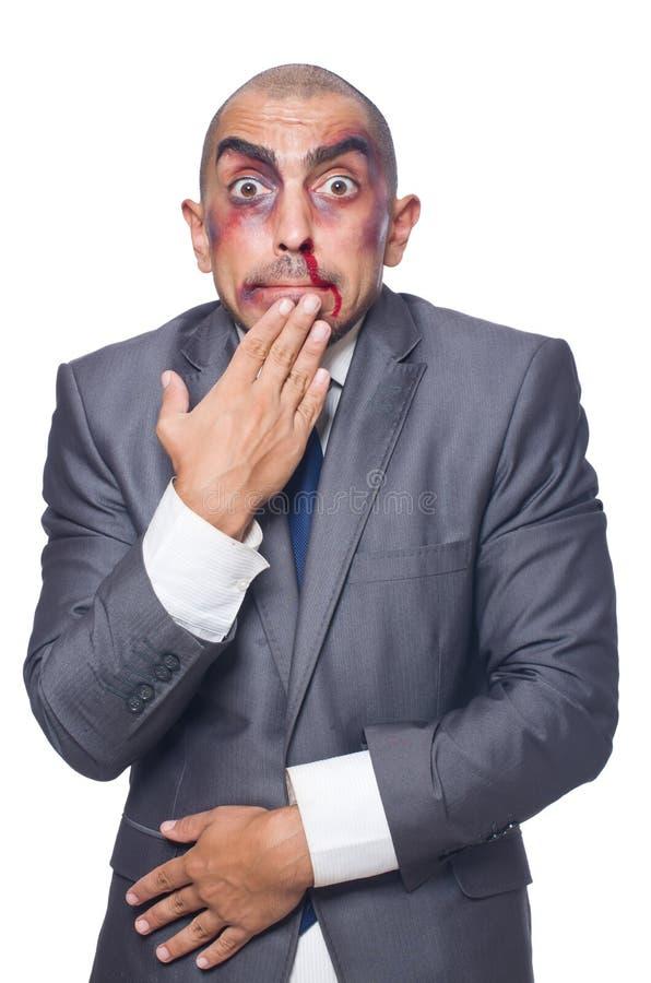 Download Hombre De Negocios Gravemente Batido Aislado Imagen de archivo - Imagen de chistoso, atractivo: 41916297