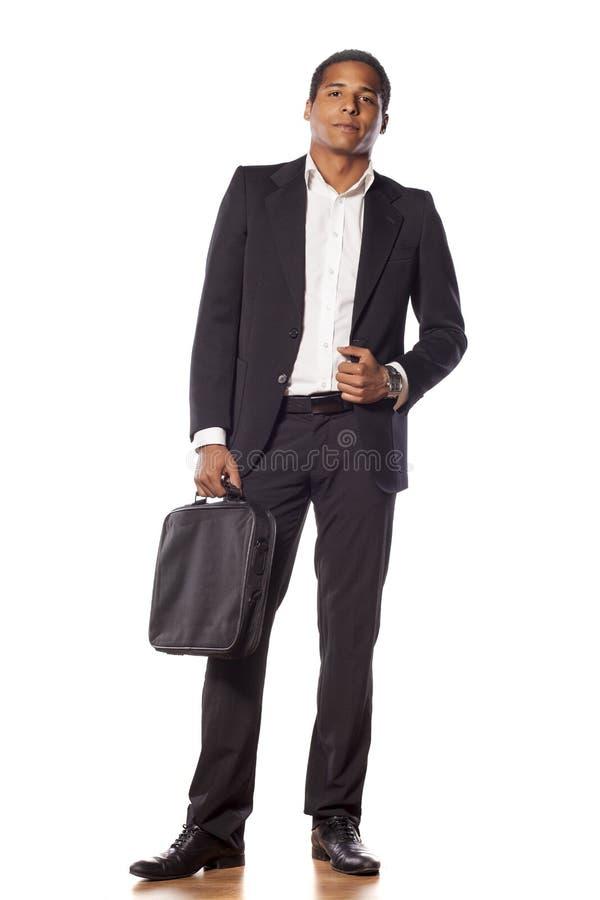 Hombre de negocios hermoso fotos de archivo