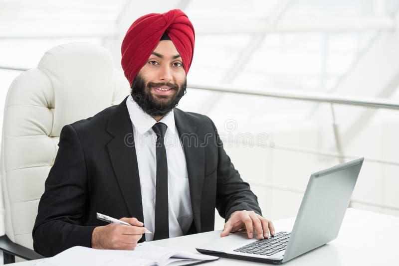 Hombre de negocios indio fotos de archivo