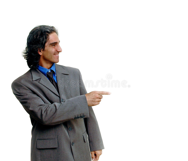 Hombre de negocios isolated-2 imágenes de archivo libres de regalías