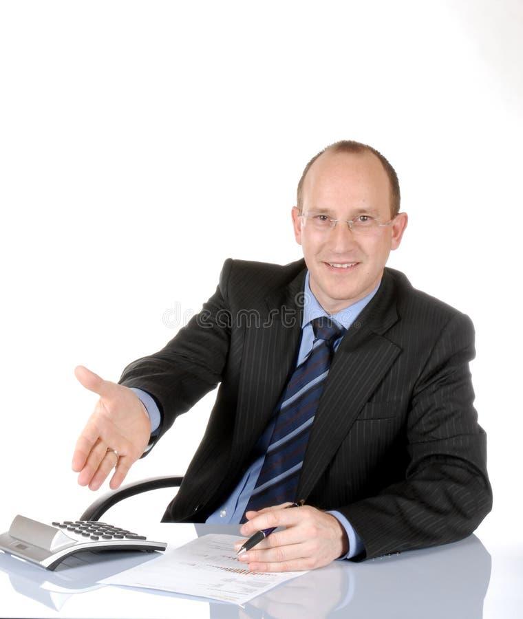Hombre de negocios IV foto de archivo libre de regalías