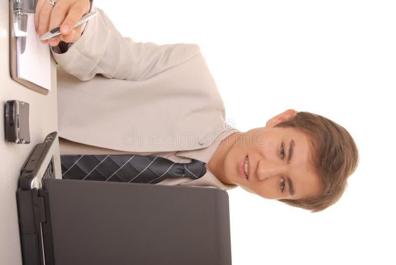 Hombre de negocios joven 6 fotografía de archivo