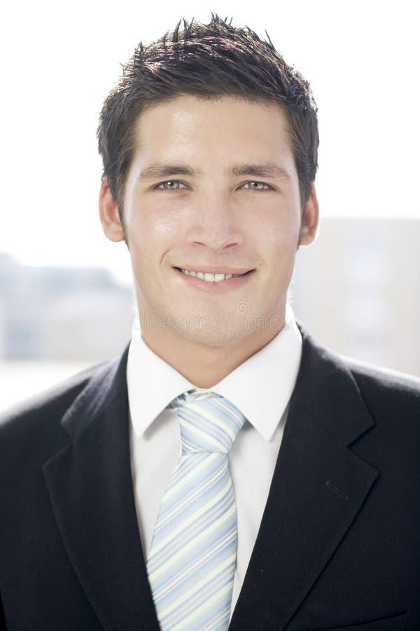 Hombre de negocios joven fotografía de archivo