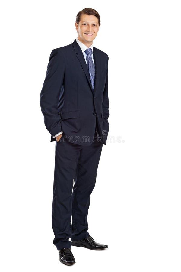 Hombre de negocios joven atractivo fotos de archivo