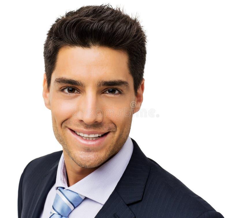 Hombre de negocios joven Smiling imagenes de archivo