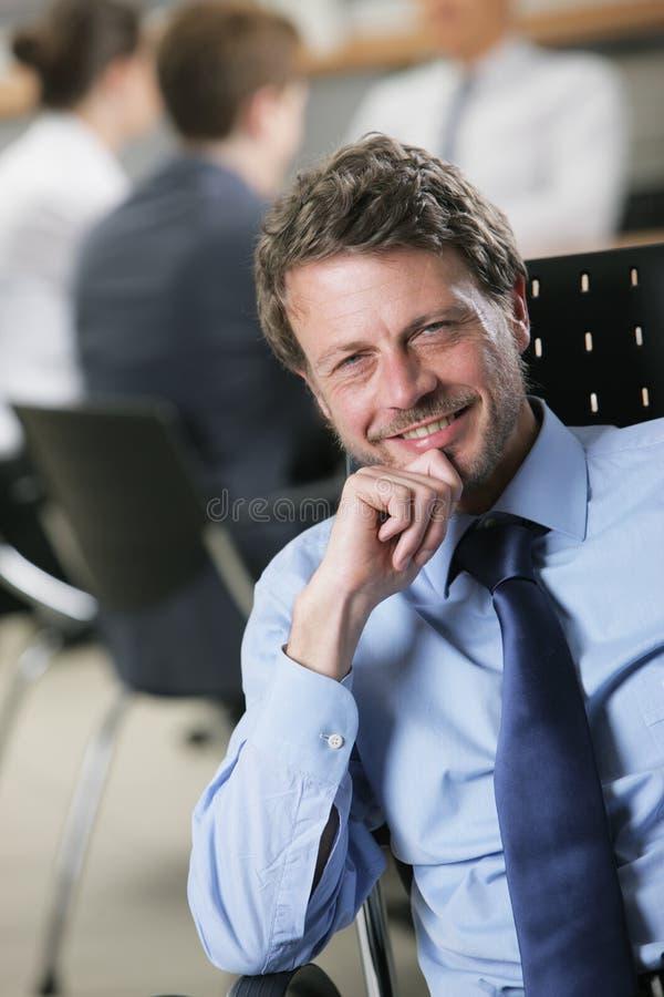 Hombre de negocios maduro imagenes de archivo
