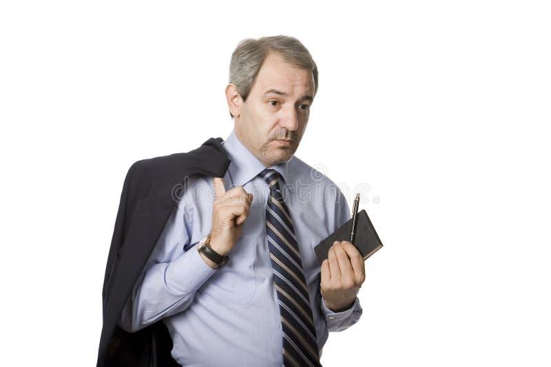 Hombre de negocios maduros imágenes de archivo libres de regalías