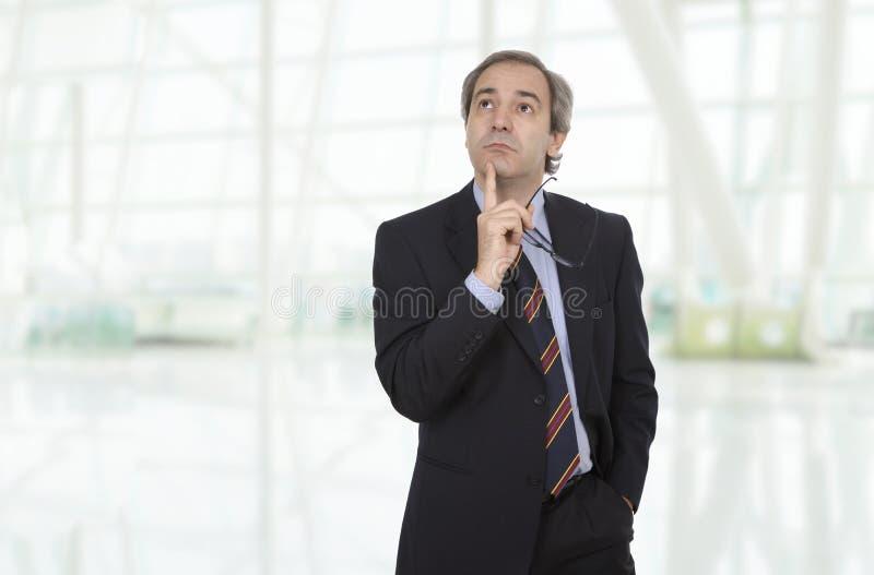 Hombre de negocios maduros foto de archivo libre de regalías