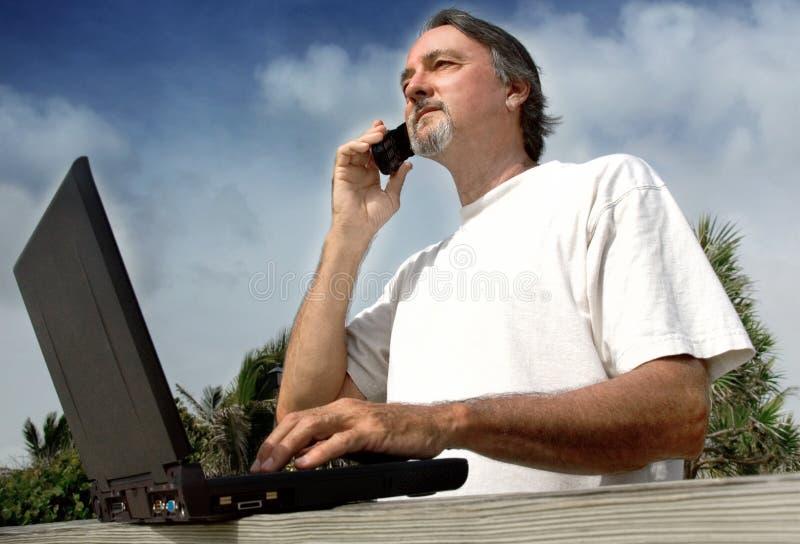 Hombre de negocios ocasional imagenes de archivo