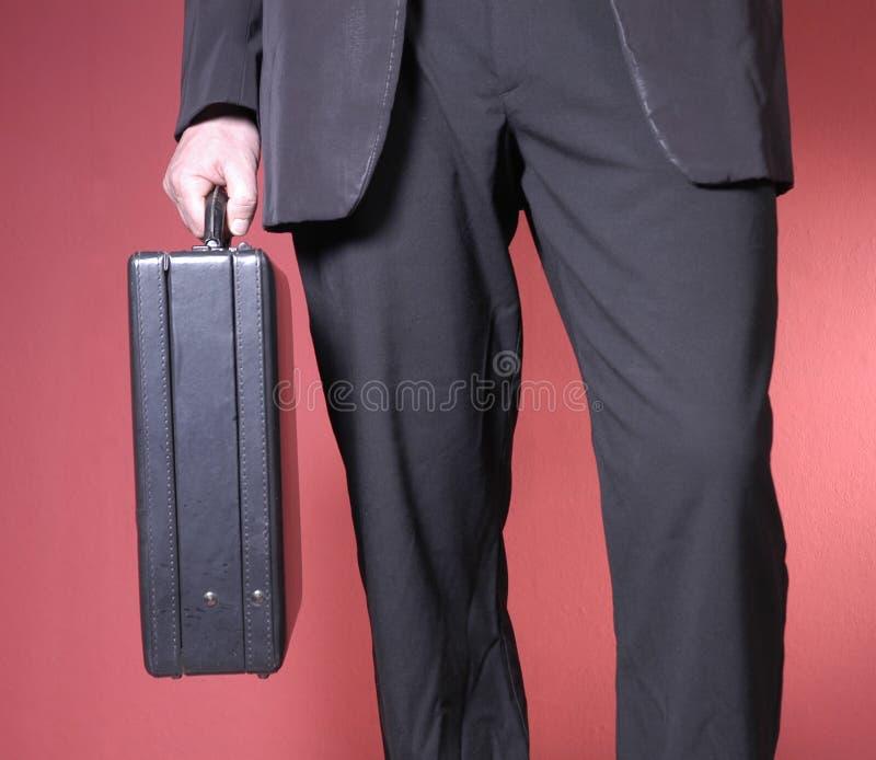 Hombre de negocios que recorre fotografía de archivo libre de regalías