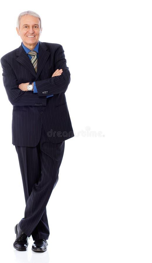 Hombre de negocios realizado imagen de archivo libre de regalías