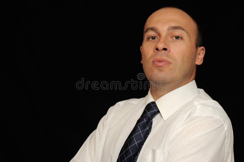 Hombre de negocios severo imagen de archivo libre de regalías