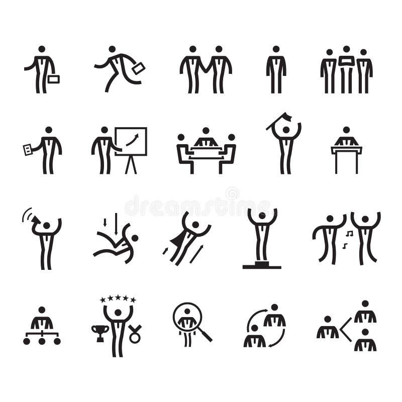 Hombre de negocios simple del icono, vector ilustración del vector