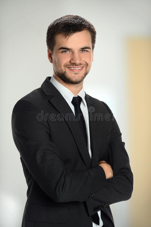 Hombre de negocios Smiling foto de archivo libre de regalías
