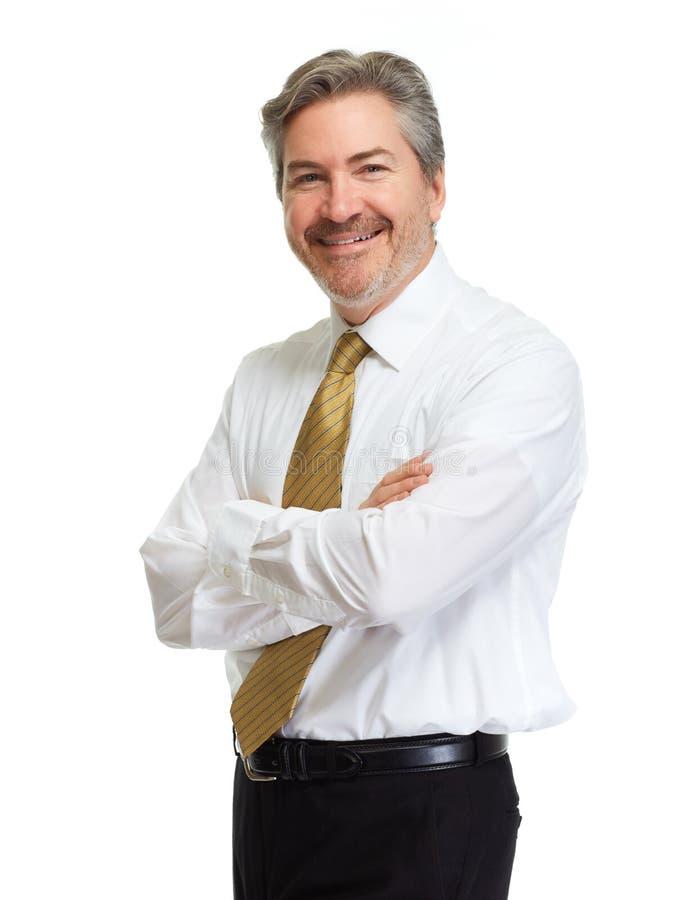Hombre de negocios sonriente imágenes de archivo libres de regalías