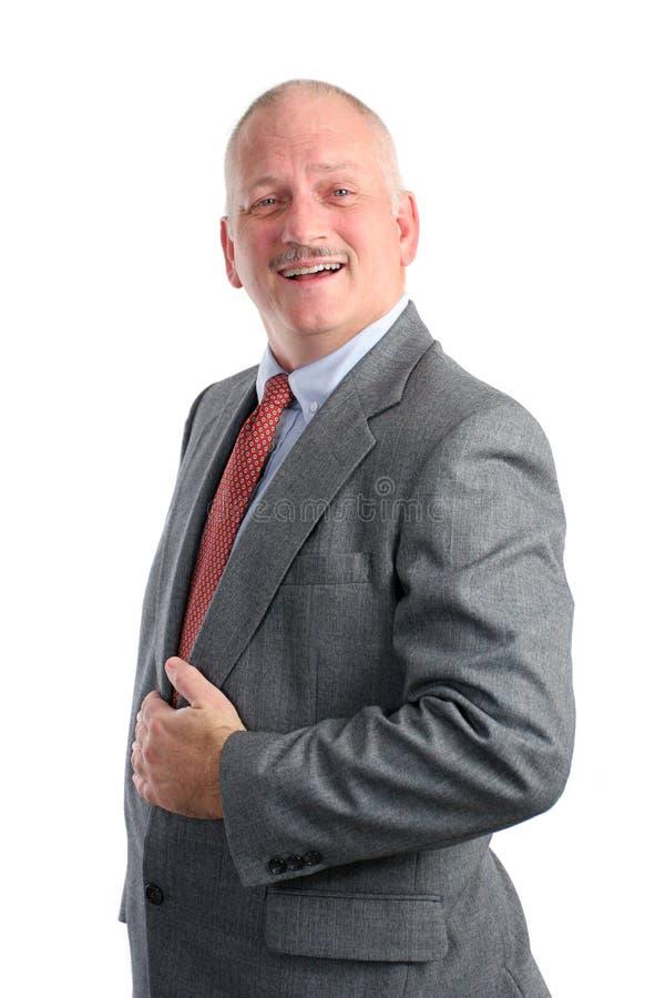 Hombre de negocios - sorprendido imagen de archivo libre de regalías