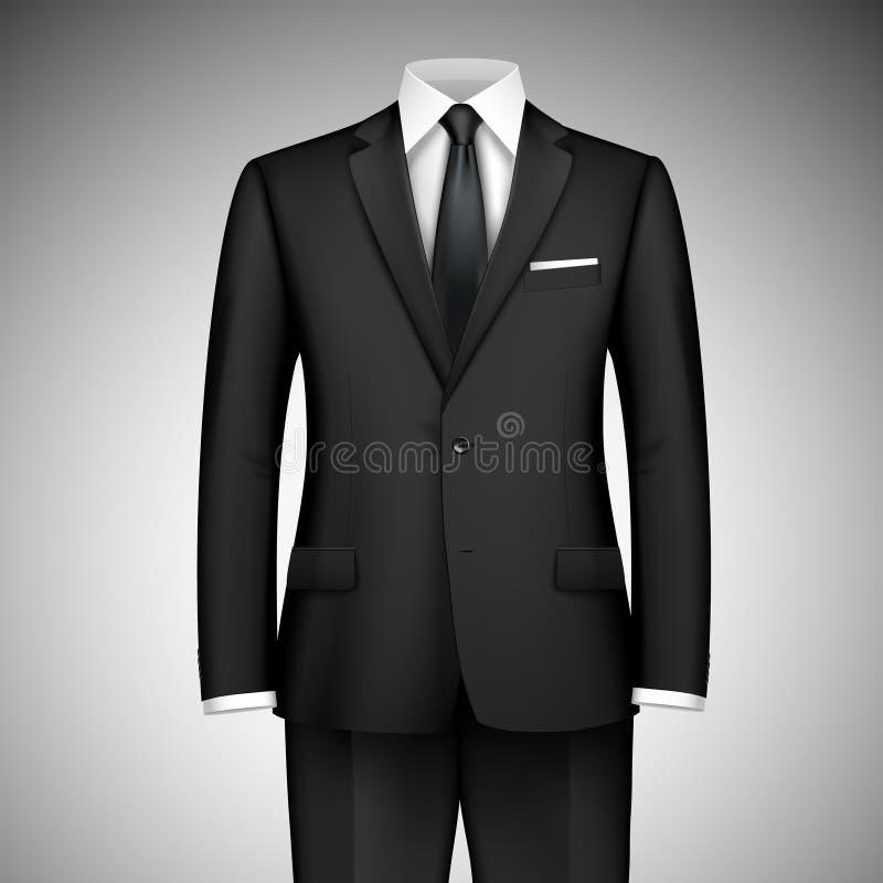 Hombre de negocios Suit stock de ilustración