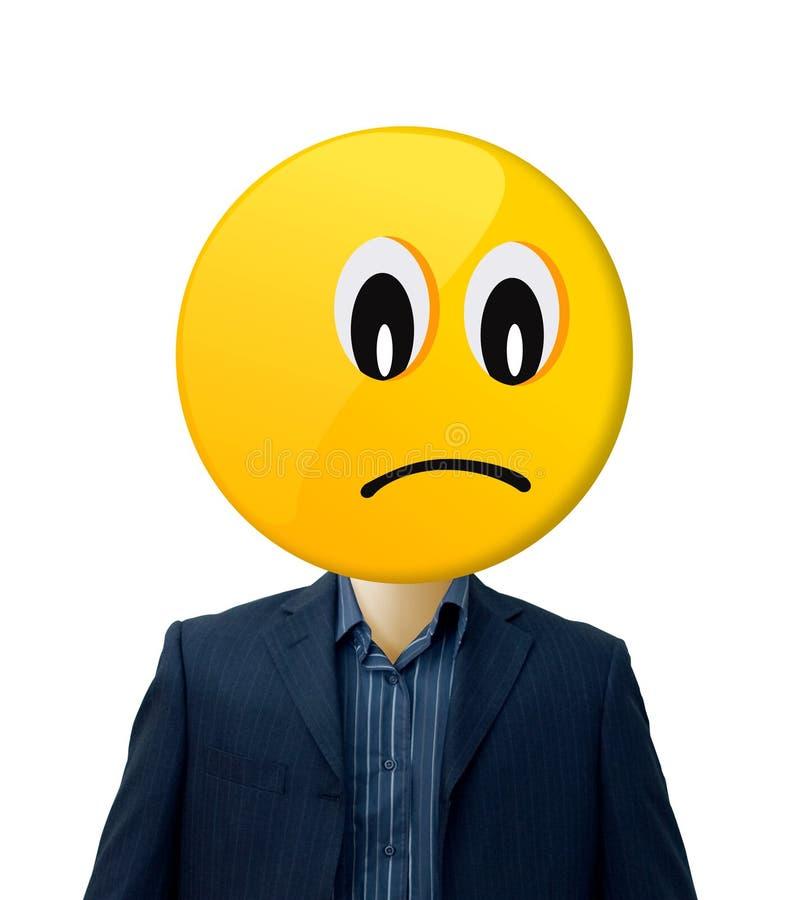 Hombre de negocios triste   fotos de archivo