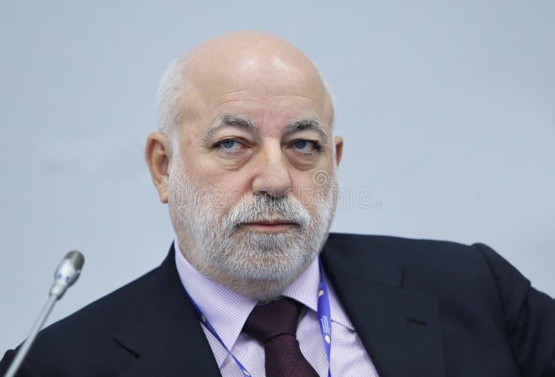 Hombre de negocios de Viktor Vekselberg Russian foto de archivo