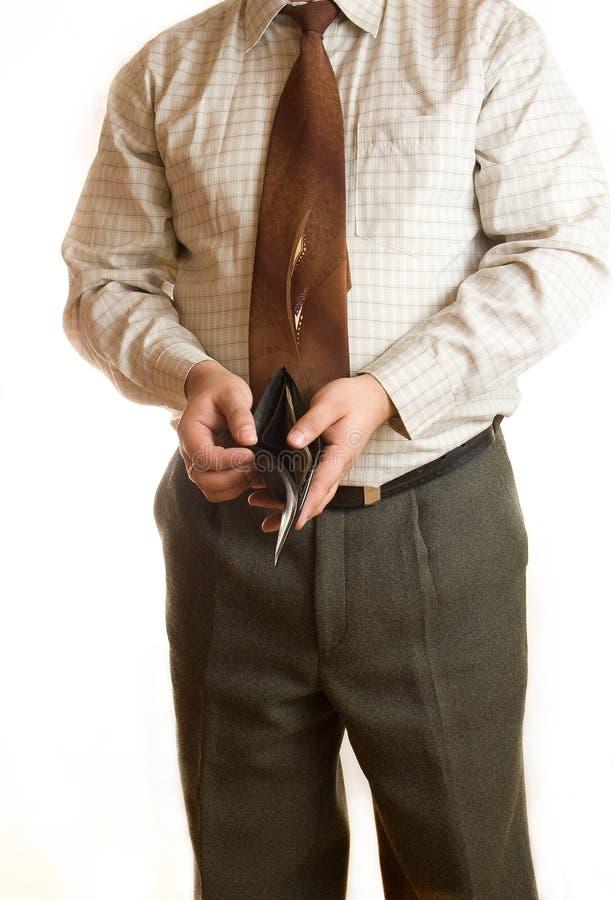 Hombre de negocios y carpeta fotos de archivo libres de regalías