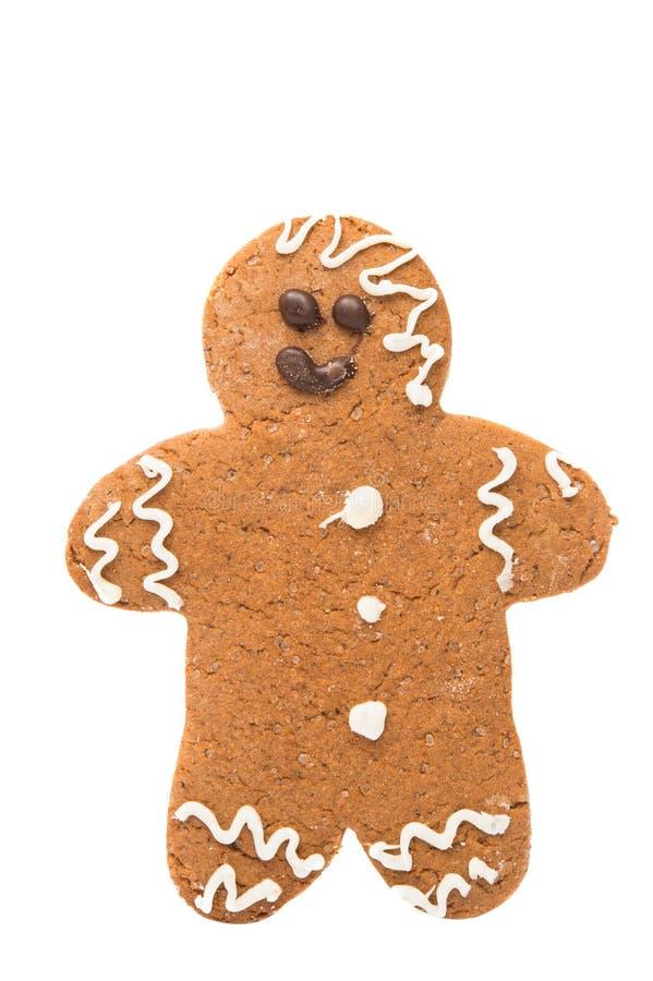 Hombre de pan de jengibre libre illustration