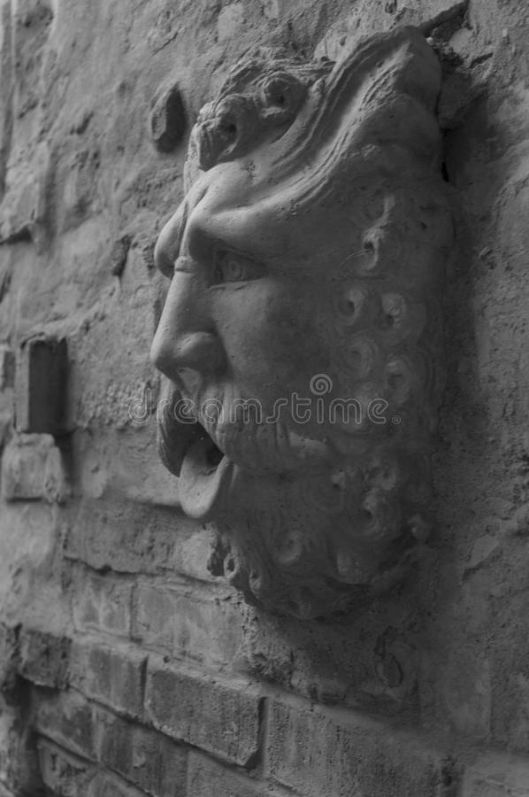 Hombre de piedra fotografía de archivo