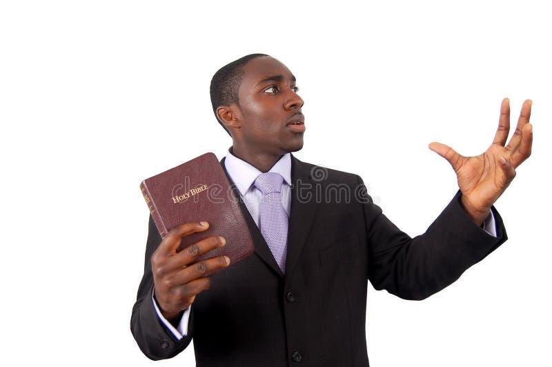 Hombre de predicador fotos de archivo