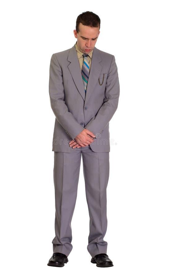 Hombre de rogación fotografía de archivo