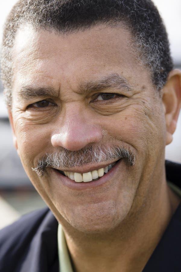 Hombre del afroamericano foto de archivo