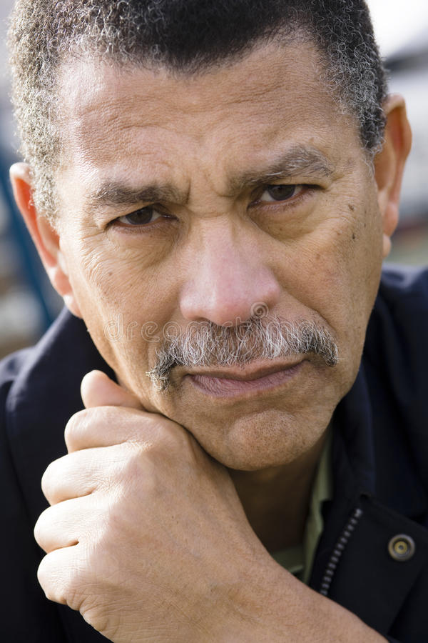 Hombre del afroamericano imagen de archivo