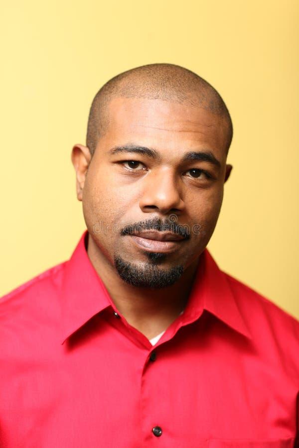 Hombre del afroamericano imagenes de archivo