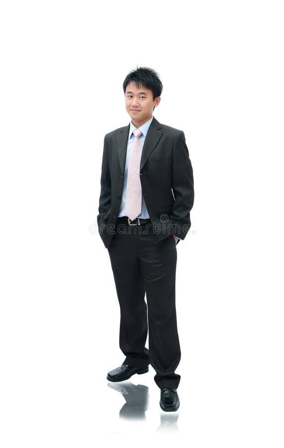 Hombre del asiático del asunto foto de archivo libre de regalías