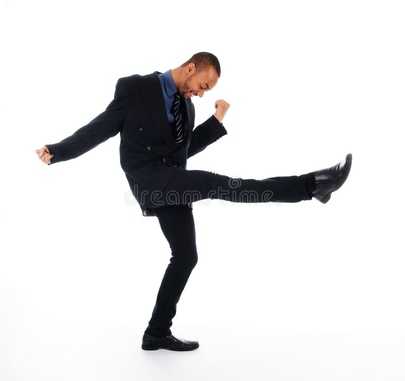 Hombre del baile imagen de archivo libre de regalías
