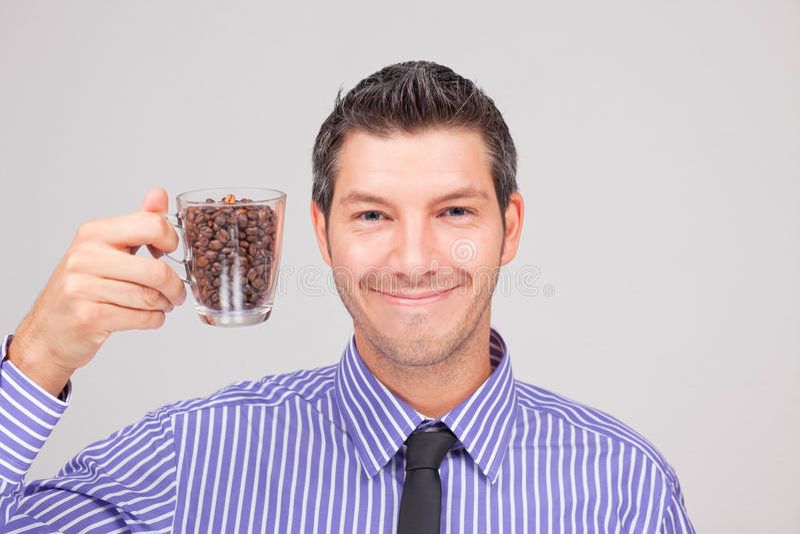 Hombre del café imágenes de archivo libres de regalías