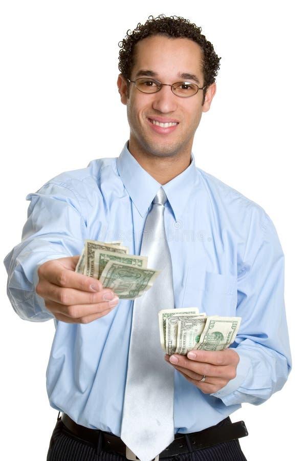 Hombre del dinero fotografía de archivo libre de regalías