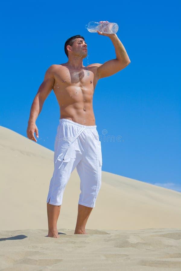 Hombre del músculo fotos de archivo
