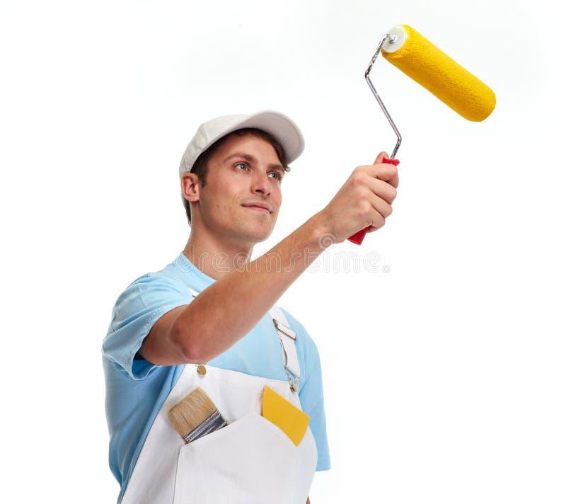 Hombre del pintor imagen de archivo libre de regalías