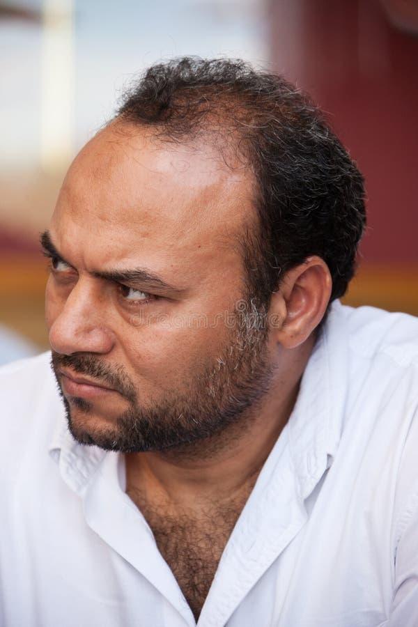 Hombre egipcio imagen de archivo libre de regalías