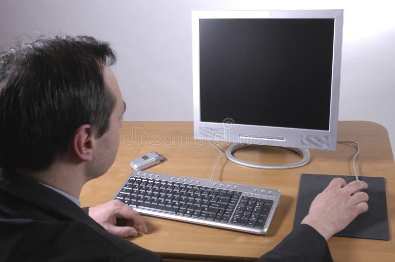 Download Hombre en el trabajo imagen de archivo. Imagen de comercio - 177165