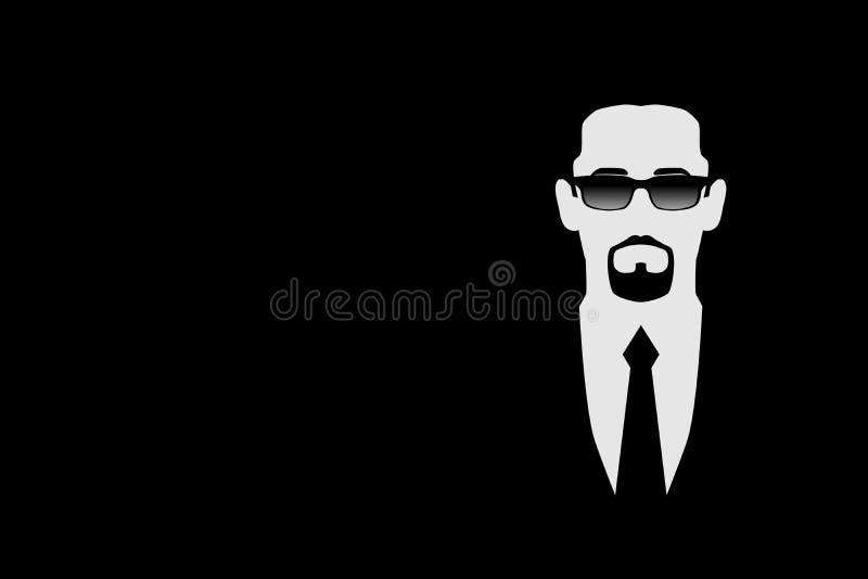 Hombre en gafas de sol negras libre illustration