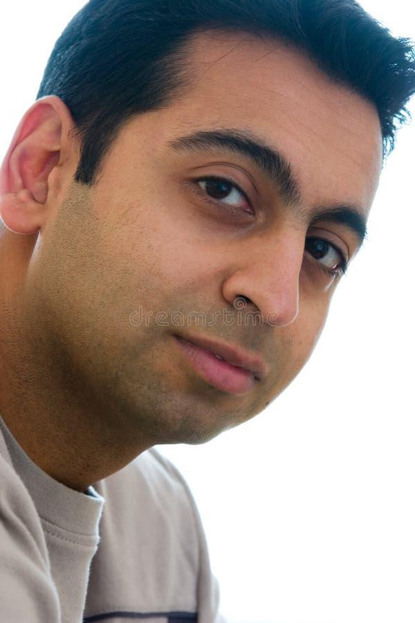 Hombre Este-Indio fotografía de archivo