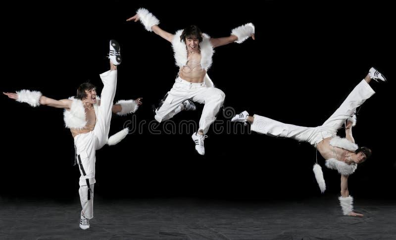 Hombre expresivo del baile imagen de archivo libre de regalías