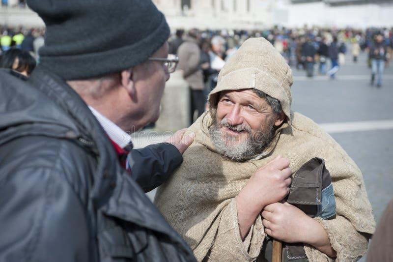 Hombre franciscano fotos de archivo libres de regalías