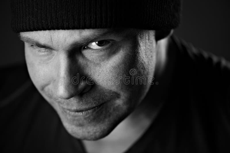 Hombre hermoso fotografía de archivo libre de regalías