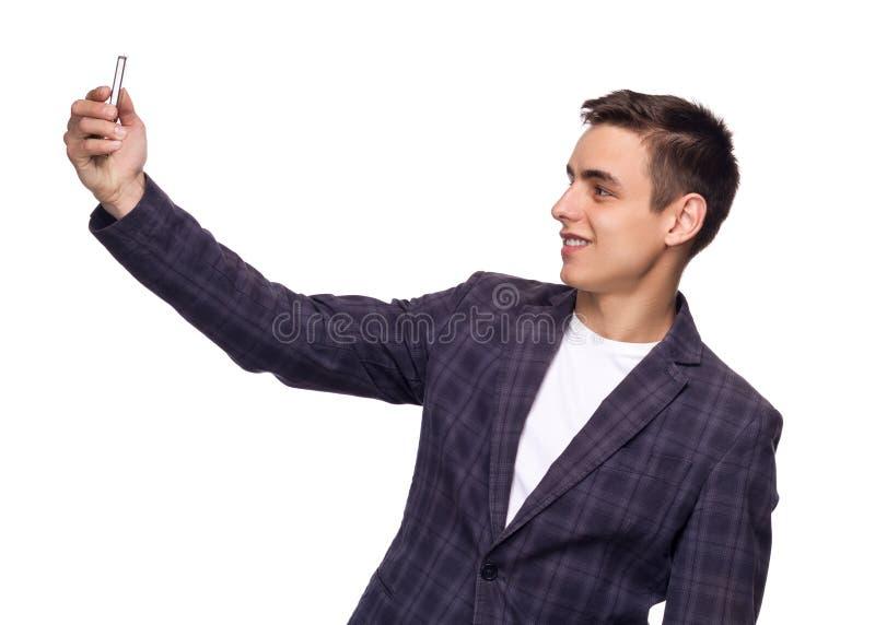 Hombre hermoso en juego foto de archivo libre de regalías