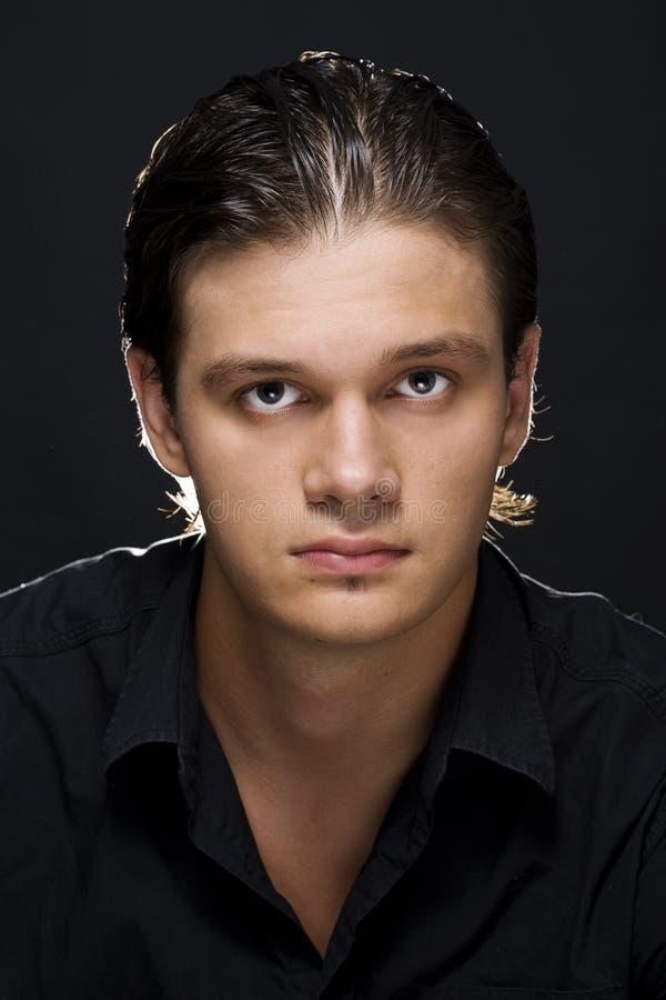 Hombre hermoso joven foto de archivo
