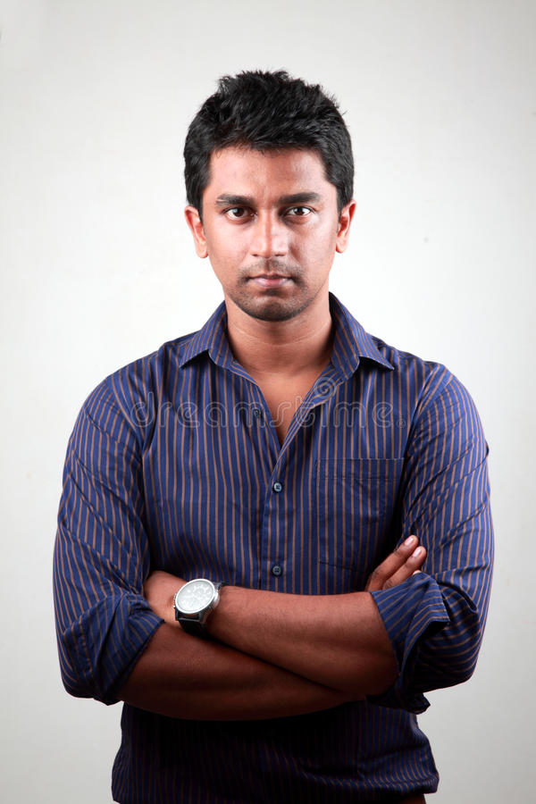 Hombre indio joven fotos de archivo