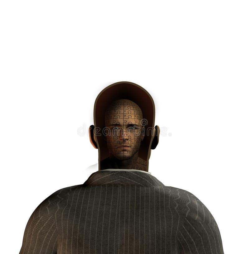 Hombre interno libre illustration